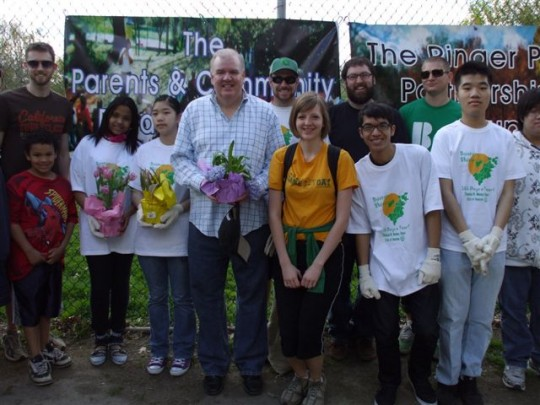 The Parents and Community Build Group/The Ringer Park Partnership Group